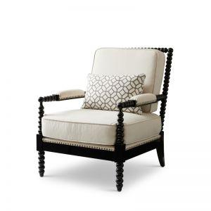 Oasis Chair | Linen Fabric | Cream