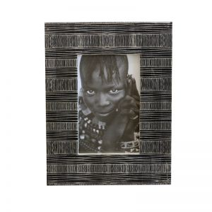 Obasi Photo Frame | Black | by Raw Decor