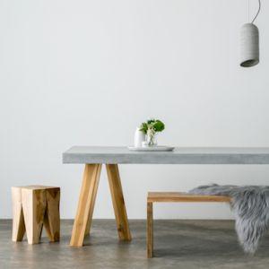 OBI   Concrete Dining Table   200 x 100cm
