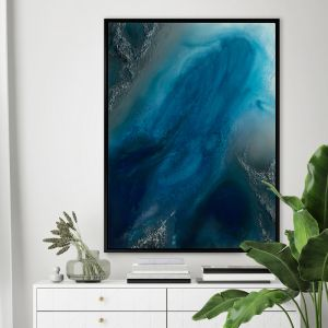 Ocean Blue | Canvas Print