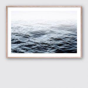 Ocean Calm 1 | Framed Giclee Art Print by Wall Style