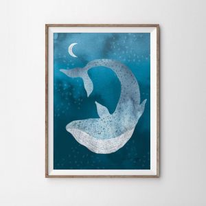 Ocean Dreamer Art Print | Various Sizes