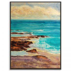 Ocean Inlet |Jennifer Webb | Canvas or Print by Artist Lane