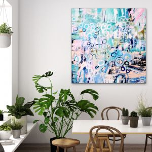 Ocean of Love | Original Artwork on Canvas by Lou Sheldon