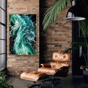 Ocean Wake | Green Water Art Print