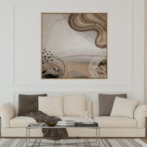 Ocean Waves | Drop Shadow Framed Art