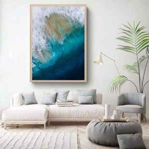 Oceans | Framed Photographic Art Print | by Sharyn Coffee