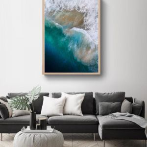 Oceans II | Framed Photographic Art Print | by Sharyn Coffee
