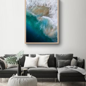 Oceans II | Photographic Art Print by Sharyn Coffee