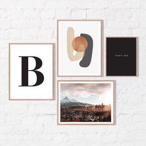 Ocre | Framed Print Set | Artefocus