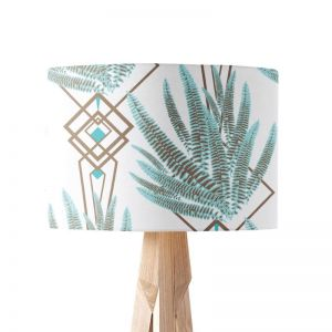 Octavia Ice Blue | Paper Lampshade | Various Sizes | Amba Florette