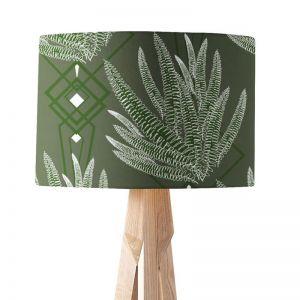 Octavia Olive | Paper Lampshade | Various Sizes | Amba Florette