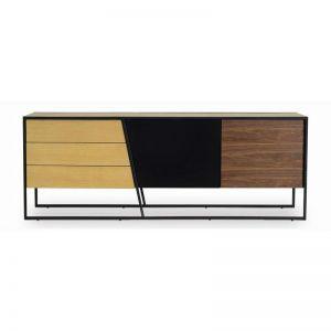 ODIN 205cm Walnut Veneer Sideboard