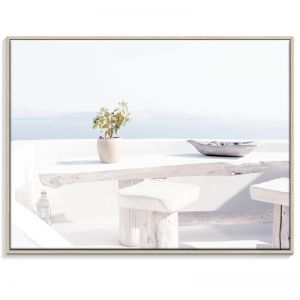 Oia Santorini 2   Canvas or Print by Artist Lane