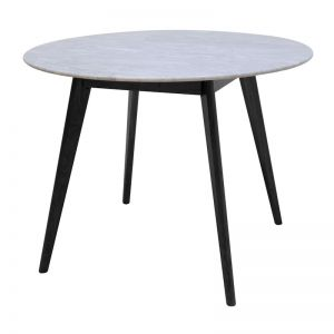 Oia White Marble Dining Table