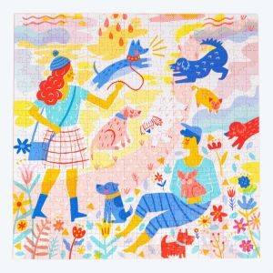 Okay Lady | Her Best Friend | Mindful Jigsaw Puzzle 400 Piece