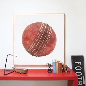 Old Ball Canvas