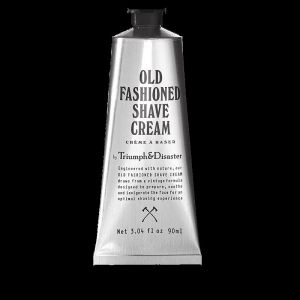 Old Fashioned Shaving Cream | 90ml Tube | by Triumph & Disaster