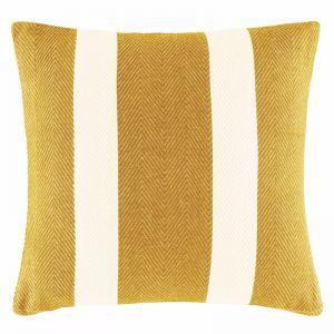 Oldham Stripe Cushion by Kas Australia | Mustard
