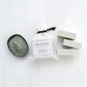 Olieve & Olie Blue Gum & Bentonite Clay 3Pk Soap | by Aura Home