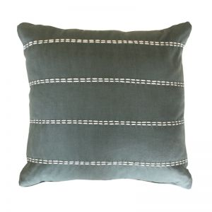 Olive Cotton Cushion Cover | by Raw Decor
