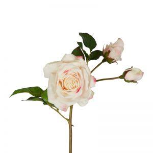 Olivia Bud Real Touch Rose Stem | 53cm | Soft Pink