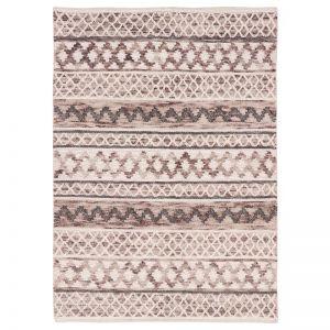 Omen Natural Hand Woven Wool Rug