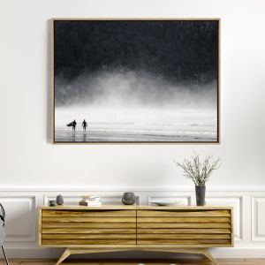 On The Search | Drop Shadow Framed Wall Art