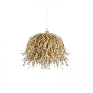 Ophelia Natural Seagrass Pendant Light