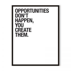 Opportunities | Framed Print | Artefocus