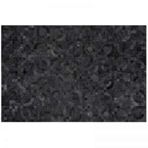 Optico Rug | Charcoal | by Art Hide