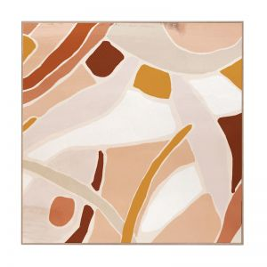 Optus Abstract | Caramel Box Frame | Front View