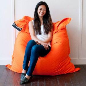 Orange Crashmat Beanbag