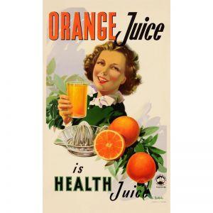 Orange Juice | Vintage Poster