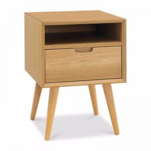 Orbit 1 Drawer Nightstand