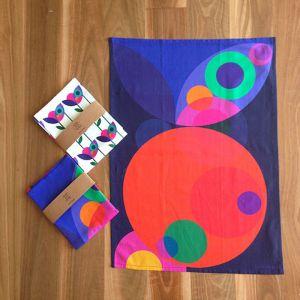 Orbit | Art Print Tea Towels
