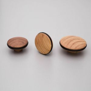 Orbit Knob | Oak or Walnut