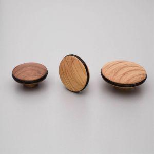 Orbit Knob   Oak or Walnut