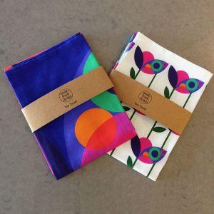 Orbit + Modular | Art print Tea Towel Set