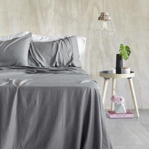 Organic Bamboo Sheet Set | Steel