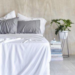 Organic Bamboo Sheet Set | White
