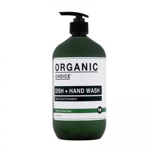 Organic Choice Dish + Hand Wash | Honey & Aloe Vera