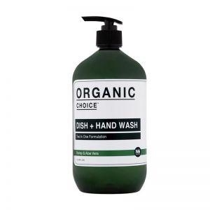 Organic Choice Dish + Hand Wash | Honey & Aloe Vera