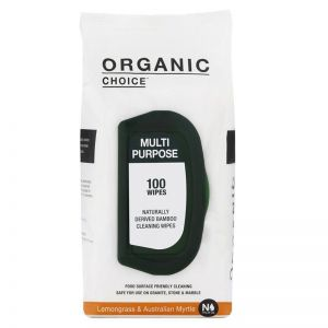 Organic Choice Multi Purpose Wipes | Lemongrass & Australian Myrtle