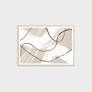 Organic Contours 2 | Framed Abstract Print