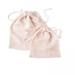 Organic Cotton Produce Bags | 6pk Sale 50% off