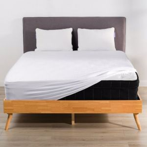 Organic Natural Bamboo 3 Pieces Fitted Sheet Set Bed Sheet White 500 Thread | All Sizes