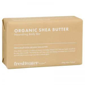 Organic Shea Butter Nourishing Body Bar 200g