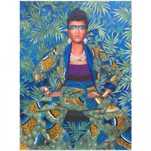 Original Artwork by Gusti Wis | 2 African Suit | Kazari