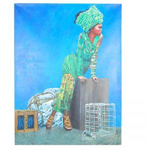 Original Artwork by Gusti Wis   5 Fashionista   Kazari